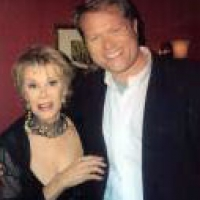 "Joan Rivers with Jim Dykes (JimDykesNY@gmail.com) who she named ""The Celebrity Tour Guide of NYC"""